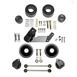 Rubicon Express Re7133 Spacer Lift System Fits 07 17 Wrangler Jk