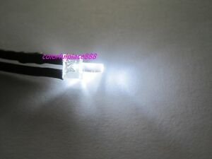 2mm Flat Top Water Clear White Warm White Led 9v 12v Pre wired Leds Light 20cm