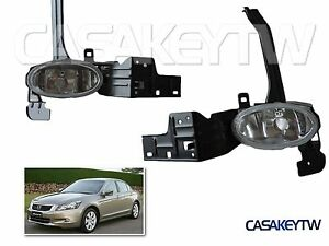 For 2008 2009 2010 Honda Accord Fog Lights Oe Replacement Assembly Lamp Pair Fa8