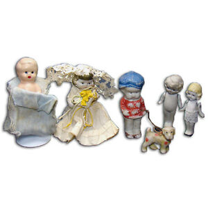 Collection Of Bisque Dolls 1910 20 S