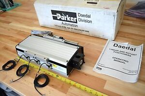 New Parker 506006et Linear Ballscrew Actuator W Encoder Nema23 Thk Cnc Z axis
