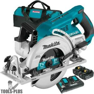 Makita Xsr01pt 18vx2 Lxt 36v Brushless Rear Handle 7 1 4 Circular Saw 2x 5 0 New