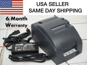 Epson Tm u220b Receipt Printer Usb Interface Same Day Shipping