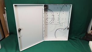Nos Ge Interlogix Alliance Al 1682 Metal Housing Enclosure Al 1682 W Keys