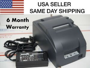 Epson Tm u220b Ethernet Interface Pos Printer 180day Warranty Same Day Shipping