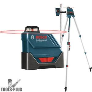 Bosch Gll150eck Self leveling 360 Exterior Laser Complete Kit New