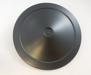 Air Cleaner Lid Top 14 Diameter Chevy Mopar Ford Muscle Car Classic Matte Black
