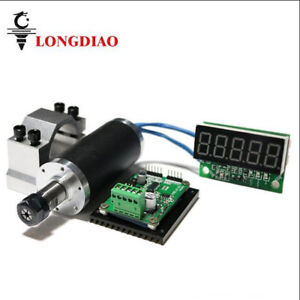 250w High Speed Brushless Motor Spindle mount Bracket tachometer For Cnc Machine
