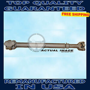 2003 2006 Jeep Wrangler 4 0 Front Drive Shaft Assembly