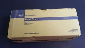 Pall Petri Dishes 100ct Sterile 50x9mm