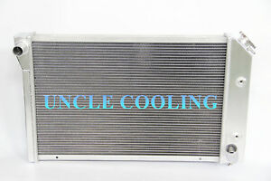 New 3 Rows Aluminum Radiator 1977 82 Chevy Corvette 5 7l V8 All