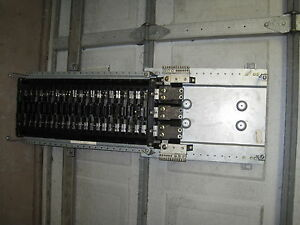 Ge General Electric 400 Amp Alf3424cb 3 Ph 208y 120 42ckt Panelboard Only