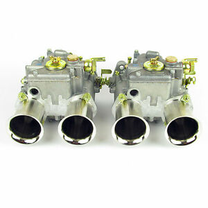 Pair Of Weber 45 Dcoe 152 Carburettors 3x Progression Hole Type