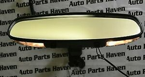 Pontiac Vibe Inside Windshield Mounted Rear View Mirror Map Reading Lights Oem
