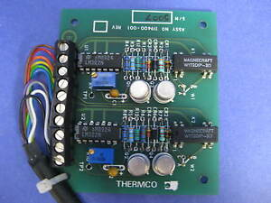 Thermco 119400 001 Tylan Soft Start Card Pcb Assy New
