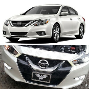 6x 6000k White Led Low Beam Drl Fog Light Bulb For 2016 2017 Nissan Altima