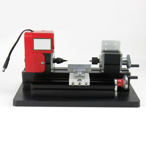 Usa Model Making Mini Metal Motorized Lathe Machine Woodworking Power Tool Diy