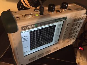 Anritsu Ms2711d Handheld Spectrum Analyzer With Warranty Option 3 And 21