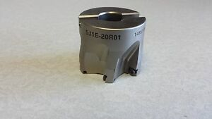 Ingersoll 5j1e 25r01 2 Indexable Face Mill 6fl With Key