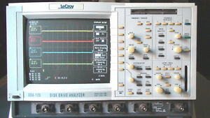 Lecroy Dda 120 Color Digital Oscilloscope 1ghz 8gs s 16mpt