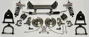 1964 1970 Ford Mustang Front Mustang Ii Ifs Kit Coilover Springs 375 Shocks