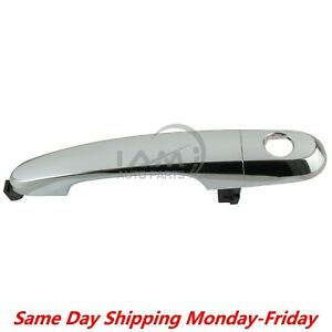 For 2011 2015 Kia Sorento Chrome Front Left Driver Outside Door Handle With Trim