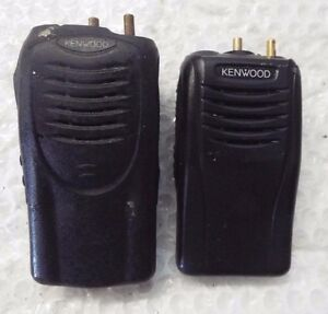 Set Of 2 Kenwood Tk 3360 k Uhf Fm Transceiver Radio And Tk3160 1 an11