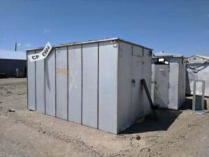 Metal Shed Multiple Sizes Storage Portable Secure Rodent Proof