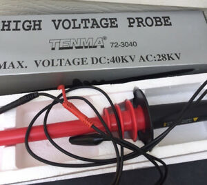 Tenma 40kv High Voltage Probe 72 3040 New In Box Multimeter Free Shipping