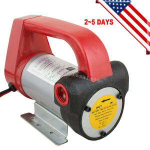 Dc12v Diesel Biodiesel Kerosene Pump Oil Fuel Transfer Extractor Pump Usa