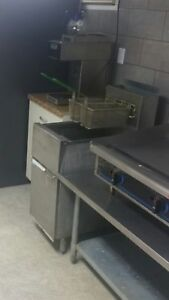 Dean Double Basket Deep Fryer