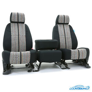 Coverking Saddle Blanket Custom Tailored Front Seat Covers For Chevy Silverado