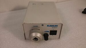 Flexilux 90 Hlu Microscope Fiber Optic Cool Illuminator