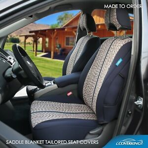 Coverking Saddle Blanket Custom Tailored Front Seat Covers For Chevy C3500