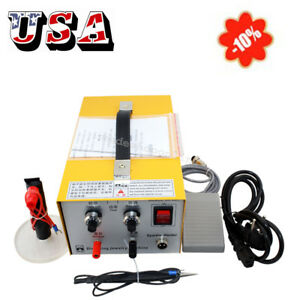 usps pulse Sparkle Spot Welder Electric Jewelry Welding Machine Gold Silver