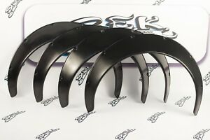 Universal Jdm Fender Flares Over Wide Body Wheel Arches Abs 3 9 Inch 100 Mm