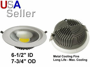 Led Recessed Round Panel Downlight Ceiling Light 20 Watt 2500 Lm Dimmable 20w