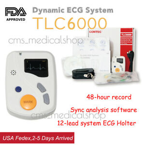 Fda Ce Single Channel 12 Lead Electrocardiograph With Printer usa Warehouse