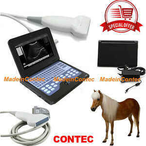 Ce Vet Veterinary Animal Laptop Ultrasound Scanner Machine linear Probe bags Hot
