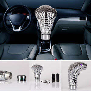 Car Cobra Head Gear Shift Knob Led Shifter Manual Automatic Universal Handle Hot