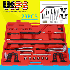23pcs Valve Spring Compressor Universal Overhead Set Automotive Tools Wholesale
