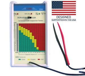 New Gme Model 236 In circuit Esr Dcr Capacitor Tester designed In The Usa