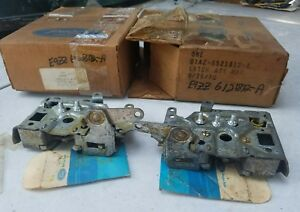 Nos Pair Mustang Boss 1971 72 Ford Ltd Galaxie Torino Ranchero Door Latch