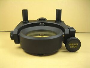 Melles Griot Gimble Lens mirror Mount 2 Lens