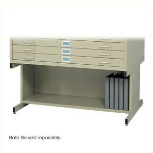 Safco Open 20 h Base For Flat File Cabinet In Tropic Sand
