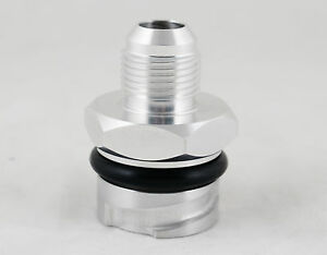 Ccv Catch Can Valve Cover Oil Cap Adapter W 10an 6 7l Ford Powerstroke Diesel