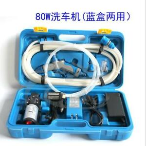 12v 80w Portable High Pressure Car Washers With High Pressure Car Water Pump
