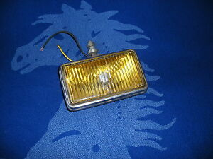 Original Ford Carello Fog Light Amber Bulb Included Nice Will Fit Countach