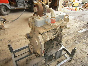 Cummins 3 9 Turbo Diesel Engine Complete 4bt 3 9 Case Backhoe Industrial