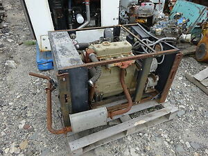 Cummins Onan L317 Diesel Engine Complete Power Unit Low Hours L 317